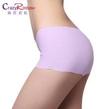 Sexy Women Thong Seamless Underpants underwear  briefs Panties  Safety pants Free shipping  boyshort Mid-Rise
