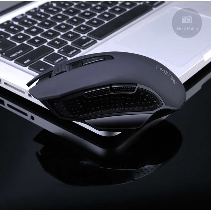 T-WOLF Q11 Mute Wireless Gaming Mouse 2400 DPI (14)