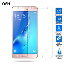 Buy 0.3mm Tempered glass Samsung Galaxy 2015 2016 J5 J7 9H 2.5D Screen explosion-proof protective film J500 J700 J510 J710 F for $1.39 in AliExpress store