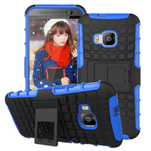 M9 Plus High Quality Armor Phone Case For HTC One M9 & M9 Plus Hard Silicon Cover Stand Couqe For HTC Hima U For Windows On