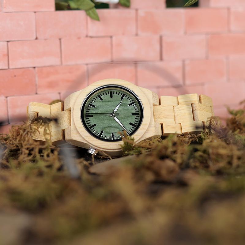 99W_2137P12 bamboo watch
