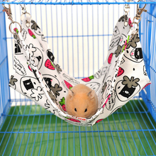 Brand Small Pet Sleeping Hanging Bed Hamster Chinchilla Hammock Guinea Pig Rabbit Cage Accessories Mat, Pet Product