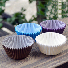 100Pcs Solid Color Paper Cake Cupcake Liner Case Party Baking Muffin Cup Cas