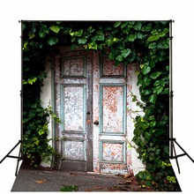 2017 Hot Children Photographic Backgrounds Doors Photo Backdrops Cloth Vinyl Backgrounds For Photo Studio Fotografia