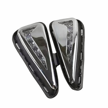New 2pcs/lot 12v LED Daytime Running Light Car Styling DRL Fog Lamp for Toyota New Camry 2015 2016 with Turn Signal Light