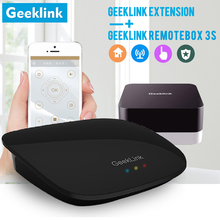 Geeklink Remotebox 3S Intelligent Controller Wifi IR RF+Extension Smart Home Automation Switch remote Control for IOS Android
