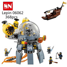 Lepin 06062 368PCS Flying submarine Building Blocks Bricks Educational Toys for Children gifts babt toys 70610(China)