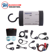 2017 Newest version AUGOCOM H8 auto scanner Heavy Duty Truck Diagnostic Tool +Software Diesel Truck Interface with Free DHL