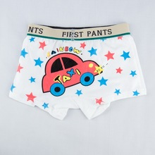 cotton panties boys underwear kids baby infant briefs kids under panties children's underpants shorts cartoon taxi car pattern(China)