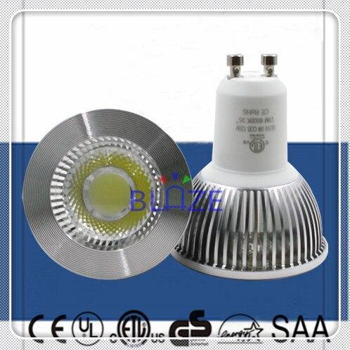 100pcs Dimmable GU10 5W Anti-Glare COB Led Spotlight Bulbs 5watt Ampoules 2700K 3000K 4000K 6000K 35 Degree Replace 50W Halogen<br><br>Aliexpress