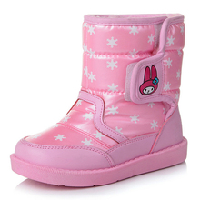 Children Shoes kids Boots plush Warm Girl Boots Girls Shoes Child Snow winter Boots Kids Shoes tx0777