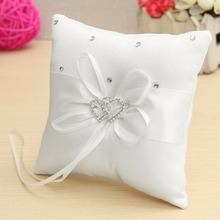 Buy Romantic Pillow Cushion Wedding Party Pocket Ring Bearer Pillow Cushion Gift New Arrival for $3.03 in AliExpress store