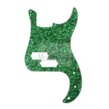 Pearl Green 4Ply P Bass Pickguard For US/Mexico Standard PB Precision Bass Style