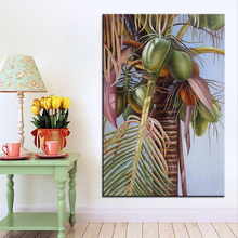 Extra Large wall Painting of fruit tree Home Office Decoration paint Canvas Prints No Framed Canvas wall picture Giclee art(China)