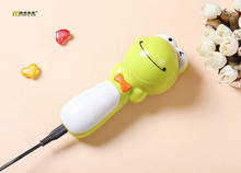 1PC Cute Rechargeable Electric Wool Hair Ball Trimmer Machine Fabric Sweater Shaver Shaver Fluff Fuzz Pill Lint Remove OK 0368(China)