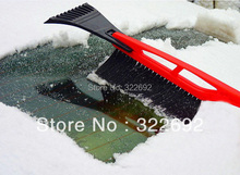 3-in-1 Plastic RED/BLUE  Snow Brush Ice and Snow Scraper Shovel Car Cleaner Blade Wiper Brush Squeegee FREE SHIPPING