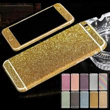 For iPhone 6 Plus/ 6s Plus 5.5'' Cell Phone Decor Full Body Sticker Fashion Luxury Diamond Bling Film New(China)