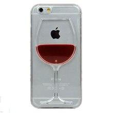 coque iphone 8 liquide vin