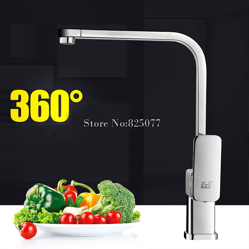 DHL Solid Brass Vegetables Faucet Kitchen Single H...