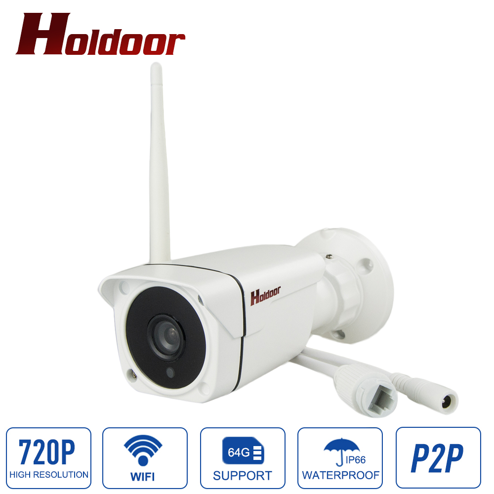 720P Wifi IP Camera Outdoor Waterproof IP66 Night Vision 1.0MP Wireless CCTV Surveillance 3.6mm/8mm Lens Security Camera Onvif P<br>