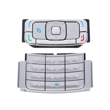 Mobile Phone Keypads Housing Replacement with Menu Buttons / Press Keys for Nokia N95(Silver)