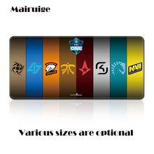 Custom Oversize CSGO Team LOGO Game Big Mouse Pad, Lock Edge Computer Keyboard Table Mat Suitable for Home Office and Gift