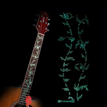 Super Thin PET Tree Of Life Acoustic Guitar Inlay Electric Guitar Sticker Fretboard Marker Decal
