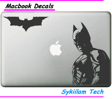 Cartoon Batman and Bat Sticker for Apple Macbook Skin Air 11 12 13 Pro 13 15 17 Retina Laptop Car Wall Vinyl Logo Decal