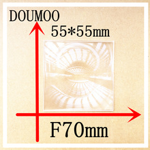 Buy small size Support dropshipping fresnel lens 4 pcs /lot square acrylic fresnel lens 55 *55 mm focal length 70 mm Condenser lens for $29.44 in AliExpress store