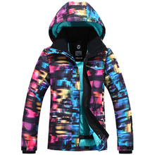Ladies Snow Clothing Woman Skiing jacket Brands -30 Winter Outdoor Sports Snowboard Jackets 10K Waterproof Sportswear Custome