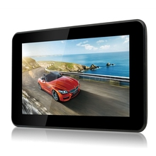Latest 7 inch GPS Android GPS Navigation Pad WiFi Internet Tablet 16GB 512MB DDR3 Quad Core 4 CPU Music Movie Ebook Game Player
