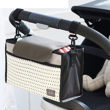 New Cup stripe bag Baby Stroller Organizer Baby Carriage Pram Buggy Cart Bottle Bags Stroller Accessories Baby Car Bag Newest