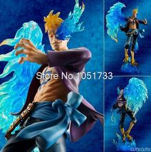 Anime One Piece P.O.P POP DX MAS Marco - The Phoenix Battle Ver. Boxed PVC Action Figure Collection Model Toy OPFG340(China)