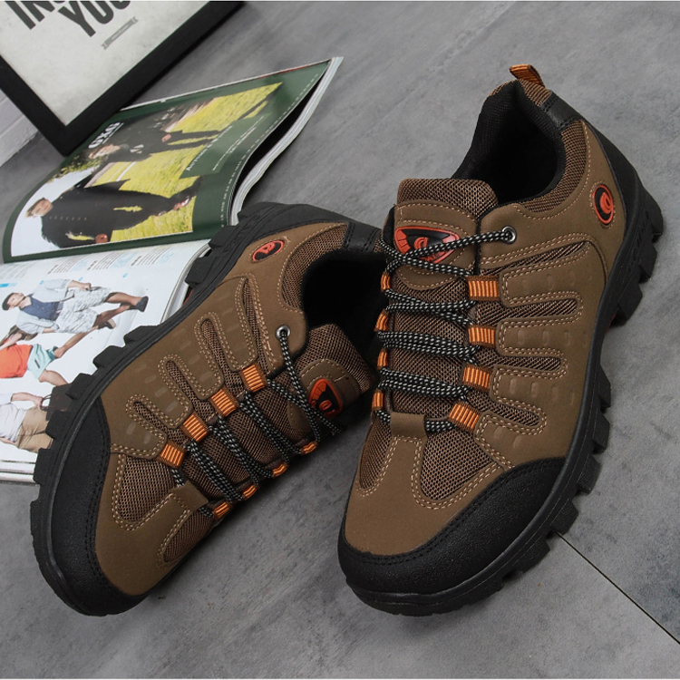 Sneakers Shoes Outdoor Walking Male Autumn Winter Plus Rubber Men Cross-Country Velvet title=