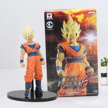 DBZ Figure SCultures Dragon Ball Z Tenkaichi Budokai 6 Super Saiyan 2 Son Goku Action Figure Model Toy Figuras(China)