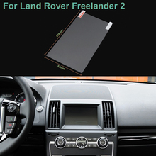 Hottop 7 Inch GPS Navigation Screen Pet Protective Film For Land Rover Freelander 2 Control of LCD Screen Car Sticker