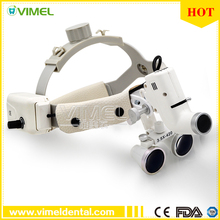 Dental equipment Surgical Medical dental Loupes dental glasses 3.5X 420mm +LED Head Light Lamp