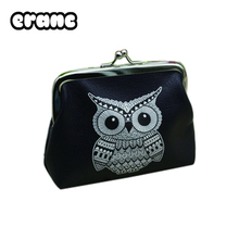 Ladie's wallets and purses animal  Elephant Pattern  for Owl Coin Bag female money tray case for cards