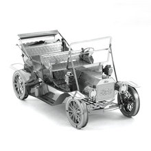 2016 New VEHICLES 3D Metal Model Puzzles 1908 FORD MODEL T Stainless Steel Creative Gifts ICONX high quality