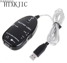 Guitar Link USB Audio Cable Interface Guitarlink Lead to Computer For PC MAC MP3 Recording XP With Driver Software New