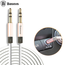 Baseus 1.2m Jack 3.5mm Aux Cable Male 3.5 mm Audio Car Stereo PM4 PM3 Headphone Speaker Computer Cord - BASEUS OfficialFlagship Store store