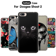 Buy EiiMoo Phone Case Doogee Shoot 2 Case Shoot2 Silicone Cute Cartoon Print Soft TPU Back Cover Doogee Shoot 2 Cover Coque for $2.18 in AliExpress store