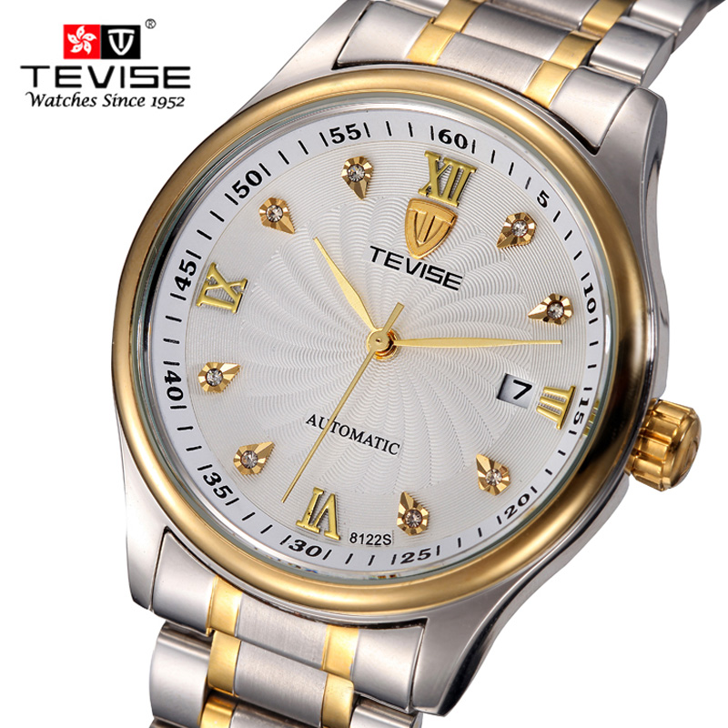 TEVISE Brand Hours Mens Mechanical Watch relojes hombre Mens Clock Relogio Masculino Military Sport Mens Casual Wristwatches<br>