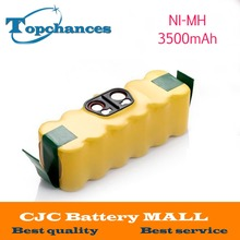 14.4V 3500mAh Ni-MH Battery for iRobot Roomba Vacuum Cleaner for 500 560 530 510 562 550 570 581 610 650 790 780 532 760 770(China)