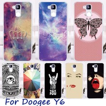 Soft TPU Cell Phone Skin Case Cover For Doogee Y6 Y6C Y6 Pro Cases Cool Cute Fashionable Stylish Painted Protective Shell