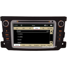 "Touch Capacitive Screen 7"" Car DVD Multimedia Player PC Radio Stereo GPS Support 3G For Mercedes-Benz Smart Fortwo 2011-2014"