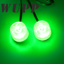 Motorcycle Driving Fog Spot Head Light Eagle Cat Eye Lamp For All Kinds Of Motorbike With Green Bright Burst Flash