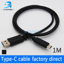 High Speed USB 2.0 to USB 3.1 Type-C Cable for Nokia N1 MACBOOK 12 Length 1m Black White Purple On Sale 1m