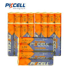 40Pieces PKCELL 1.5V Battery AAAA LR61 AM6 Alkaline Battery E96 LR8D425 MN2500 MX2500 4A For bluetooth earphone,alarm clock,toys(China)