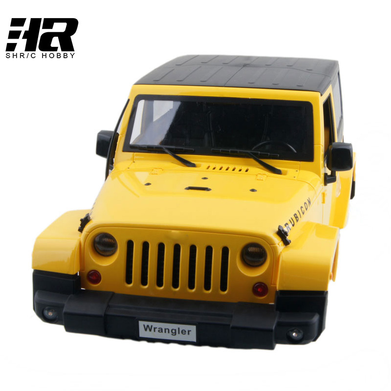 Free shipping RC car 1/10 car Shell 475mm (the total tyre total) is 440mm long Canopy Rubicon Topless For HSP 94180 SCX10 D90<br>